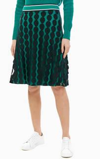 Расклешенная юбка с эластичным поясом Comma,