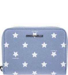 Кожаный кошелек с принтом Metallic Star Print Coccinelle