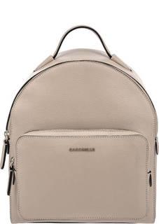 Кожаный рюкзак серого цвета Clementine Soft Coccinelle