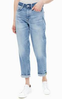 Синие укороченные джинсы бойфренд Hetta Relaxed Marc Opolo