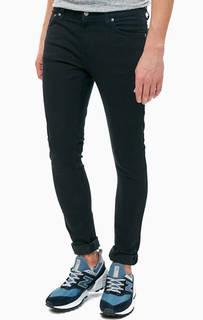 Джинсы скинни черного цвета Skinny Lin Nudie Jeans