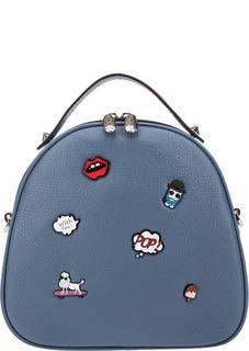 Кожаная сумка-рюкзак с двумя отделами Curanni