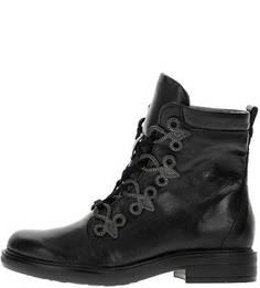 Высокие демисезонные ботинки из натуральной кожи Mjus