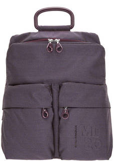 Текстильный рюкзак с одним отделом и карманами Mandarina Duck