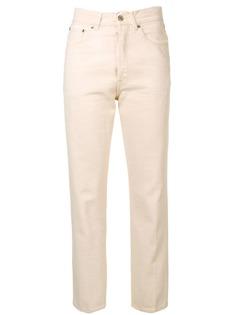 Golden Goose Deluxe Brand укороченные джинсы с завышенной талией