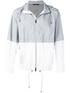 Z Zegna двухцветная куртка-дождевик