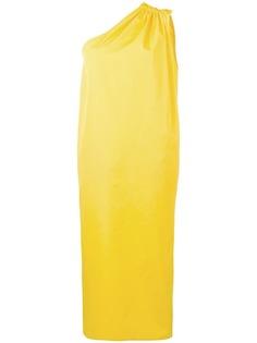 Max Mara платье миди на одно плечо