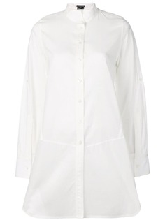 Ann Demeulemeester рубашка с высоким воротом