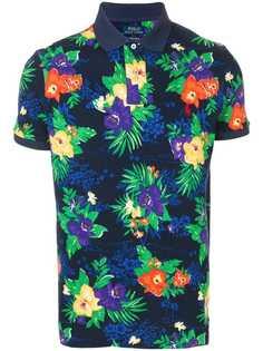 Polo Ralph Lauren рубашка-поло с цветочным принтом