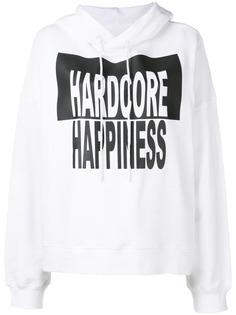 Maison Margiela худи с принтом Hardcore Happiness