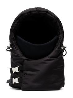 Prada дутый капюшон со шнурком
