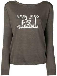 Max Mara пуловер M с логотипом