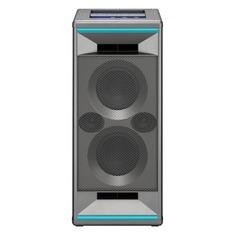 Колонка порт. Pioneer XW-SX50-H серый 120W 1.0 BT/3.5Jack/USB