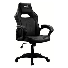 Кресло игровое Aerocool AС40C AIR ALPHA BLACK черный сиденье черный