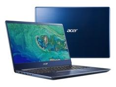 Ноутбук Acer Swift SF314-54G-85WH Blue NX.GYJER.006 (Intel Core i7-8550U 1.8 GHz/8192Mb/256Gb SSD/nVidia GeForce MX150 2048Mb/Wi-Fi/Bluetooth/Cam/14.0/1920x1080/Linux)