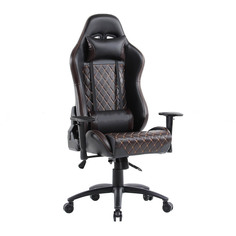 Компьютерное кресло TetChair iChess искусственная кожа Black-Brown