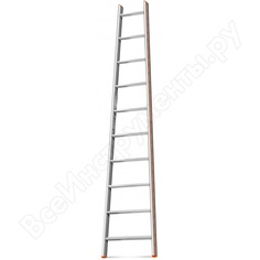 Приставная лестница 10 ступеней эйфель комфорт-профи-пирамида