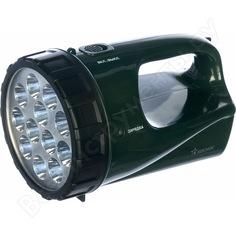 Фонарь-прожектор космос accu 9199led 12led, 4v3ah kocaccu9199led