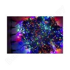 Гирлянда neon-night клип лайт 24в, 5 нитей по 20 м, 665 led мульти 323-509