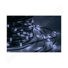 Гирлянда neon-night клип лайт 12в, 100м, шаг 150 мм, 660 led белые, с трансформатором 325-125
