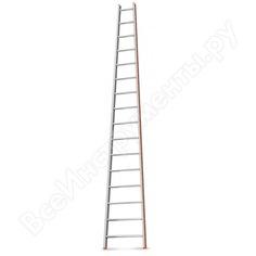 Приставная лестница 16 ступеней эйфель комфорт-профи-пирамида