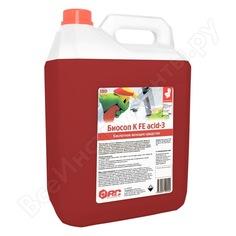 Средство для ежедневной уборки санузлов аис биосоп к fe acid-3 концентрат, 6кг 9040424