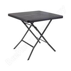 Стол (складной, черный) gogarden split 50368