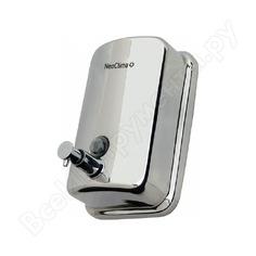 Диспенсер для жидкого мыла neoclima dm-800 800мл, нержавеющая сталь 34244