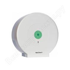 Диспенсер для туалетной бумаги neoclima d-p1 ударопрочный пластик 34249