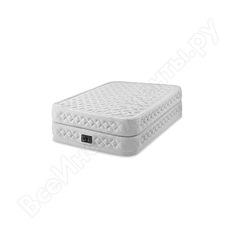Надувная кровать intex supreme air-flow bed 152х203х51см 64464