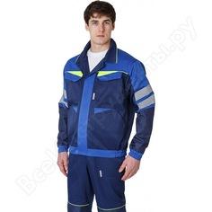 Мужская укороченная куртка факел profline base темно-синий/васильковый р. 56-58, рост 182-188 87468773.008