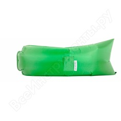 Надувной диван биван классический, цвет салатовый bvn18-cls-lgr