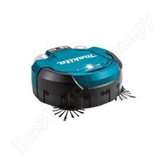 Аккумуляторный робот-пылесос makita drc200z