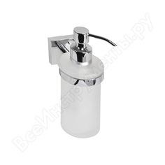 Дозатор для жидкого мыла iddis edifice матовое стекло латунь id edimbg0i46