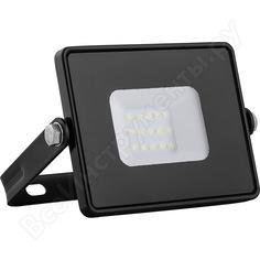 Светодиодный прожектор 2835 smd 10w 4000k ip65 ac220v/50hz, черный с матовым стеклом 108*115*26мм feron ll-918 29490