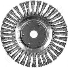 Щетка дисковая плоская для ушм (200х22.2 мм) inforce 11-01-047