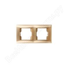 Двухпостовая рамка volsten v01-16-a21-m magenta dorado, 10032