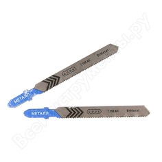 Пилка для лобзика по металлу t118af (2 шт.) edge by patriot 814010003