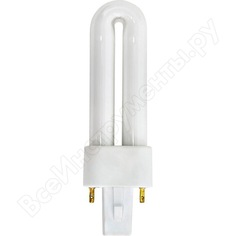 Люминесцентная одноцокольная лампа 1u t4 2p g23 11w 6400k feron est1 4280