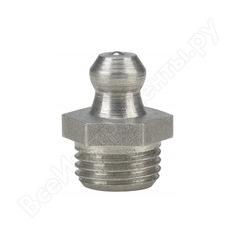 Пресс-масленка из нержавеющей стали н1, прямая m 10x1 va, sk, sw 11 мм pressol 15913