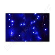 Гирлянда neon-night дюраплей 20м, 4 модуля x 5м, черный каучук, 200 (50x4) led синие 315-153