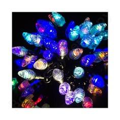 Гирлянда neon-night мультишишки, 10м, 80 led, rgb, черный каучук 303-509-3