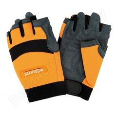 Рабочие мужские перчатки с обрезанными пальцами sturm р.l 8054-02-l