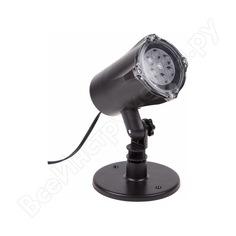 Led проектор neon-night белые снежинки, 220в 601-263
