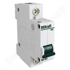 Автоматический выключатель dekraft ва101-1p-003a-c 11051dek 121893