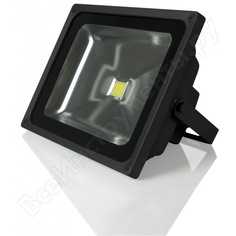 Светодиодный прожектор gauss led 50w cob ip65 613100350