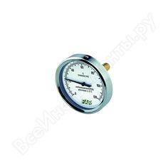 "Термометр 0-120°c, торцевое соединение 1/2"", зонд 50 мм, диаметр 80 мм far fa 2600"