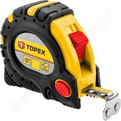 Рулетка topex со стальной лентой и магнитом 10мx32мм 27c340