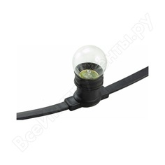 Гирлянда neon-night belt-light шаг 40 см патроны e27 влагостойкая ip54 331-212
