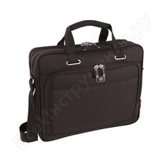 Портфель для ноутбука 16 дюймов, черный, 41x15x34 см, 12 л wenger 600645